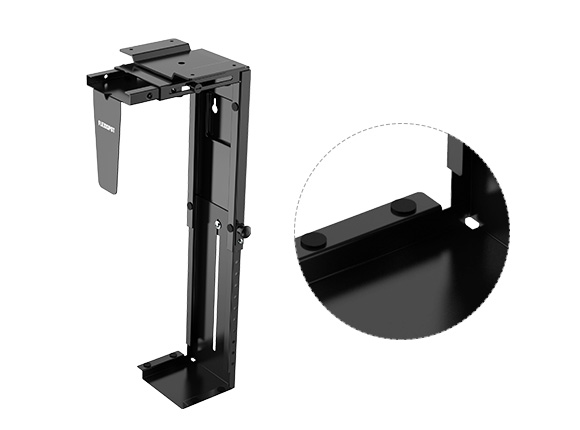 FlexiSpot CH1 Adjustable CPU Holder and Under-Desk CPU Mount 1